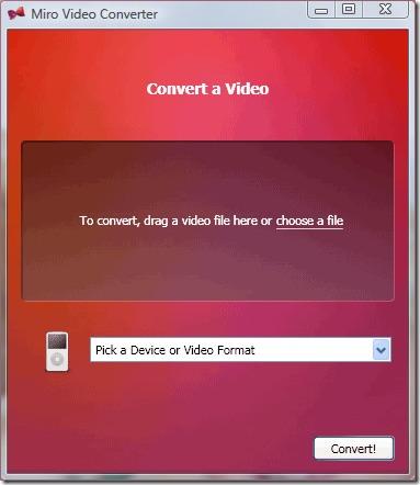 Miro Video Converter Image 1 - प्रोफेसर-falken.com