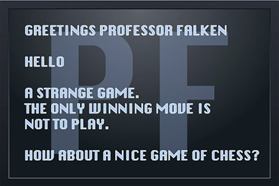 प्रोफेसर Falken – देखते हैं और प्रौद्योगिकी है कि आप चारों ओर से घेरे महसूस