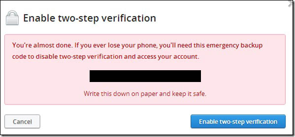 Cómo proteger tu cuenta de Dropbox con la verificación en dos pasos Image 4 - Professor-falken.com